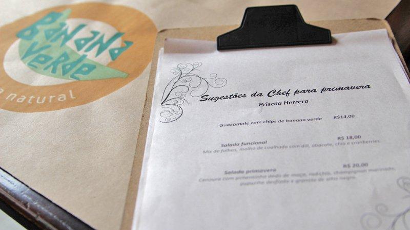 Restaurante em SP: Banana Verde Cozinha Natural 1